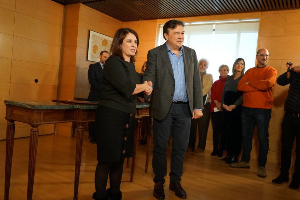 Teruel Existe le arranca al PSOE la creación de un Ministerio para la Repoblación y el Reequilibrio Territorial