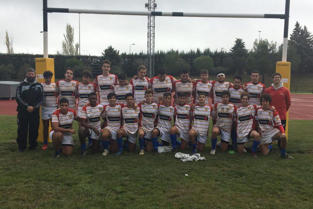 Las selecciones aragonesas de rugby S16 y S18 se juegan el pase a la final de ascenso ante Murcia
