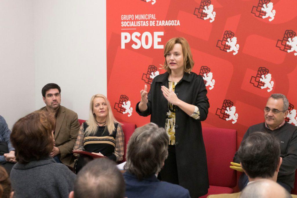 Pilar Alegría califica los presupuestos del gobierno de Azcón para 2020 como «antisociales, antibarrios y antipersonas»