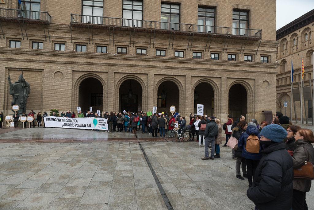 Las entidades sociales solicitan un Consejo de Ciudad antes de la aprobación de los presupuestos de Zaragoza