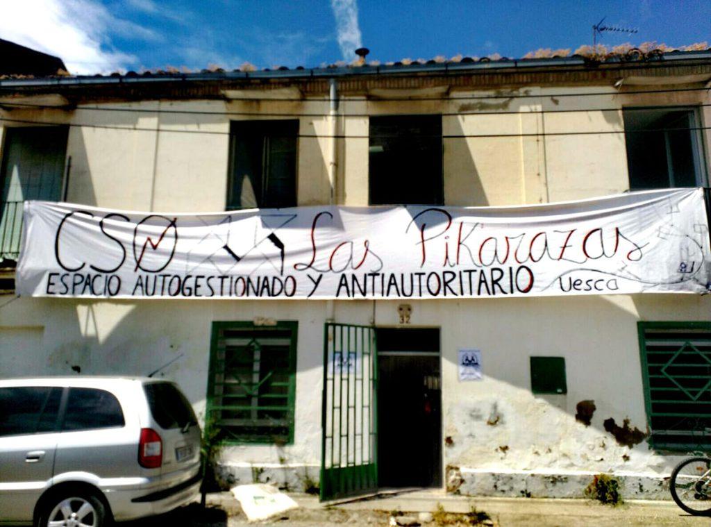Desalojado el CSO Las Pikarazas en Uesca