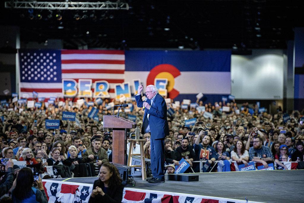 [GRÁFICAS] Sanders gana con claridad en Nevada y toma ventaja