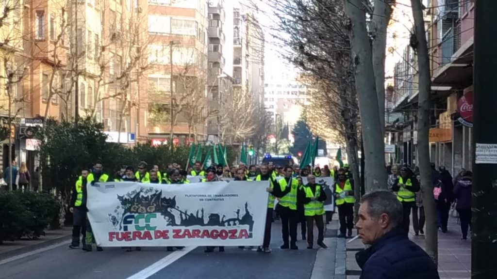 🔴 EN DIRECTO | Huelga indefinida en parques y jardines de Zaragoza