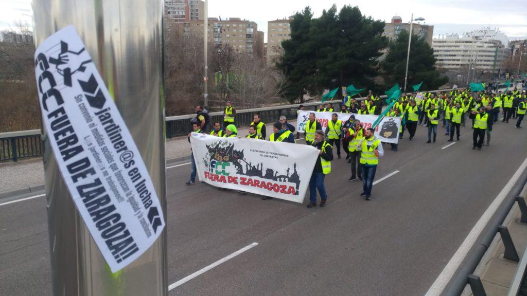 ZeC denuncia las «malas prácticas» de FCC que «se siente impune ante la inacción del Gobierno de Zaragoza»