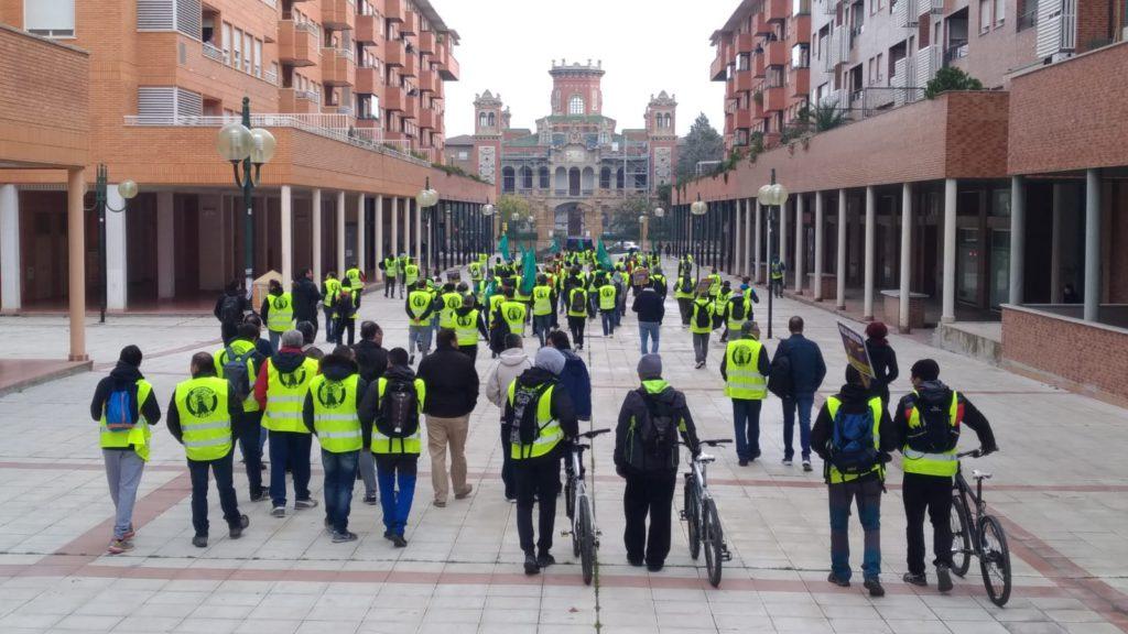 Jardineros: «La huelga continúa hasta que FCC garantice el poder adquisitivo, medidas de igualdad y conciliación»