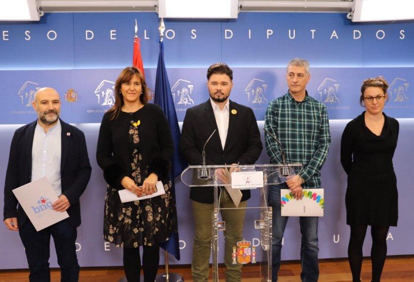L'independentisme planta a Felip VI al Congrés: «No tenim Rei»