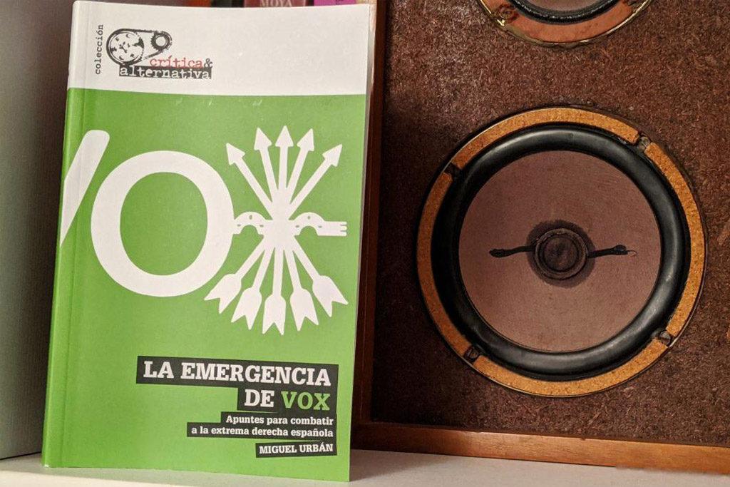 Miguel Urban presenta en el Luis Buñuel su libro 'La emergencia de Vox'