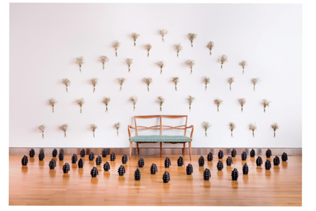 El IACC Pablo Serrano acoge la I Muestra Internacional de Arte Contemporáneo realizado por Mujeres
