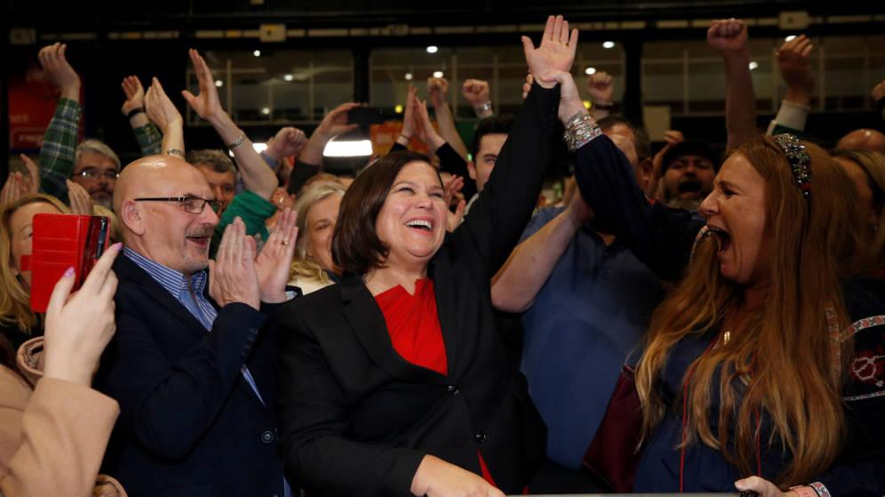 Resultado histórico del Sinn Féin que logra romper el bipartidismo irlandés