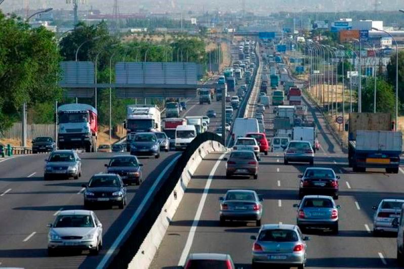 Tráfico vehículos