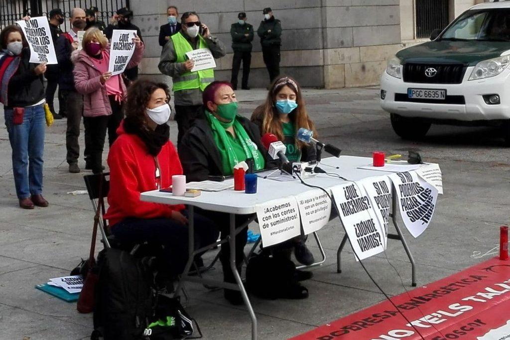 Momento de la rueda de prensa. Foto: arainfo.org